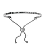 "Intuitions "" There is no Friend Like A Sister"" Friendship Bracelet - Oak Ridge Jewelers"