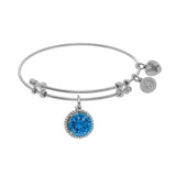 Angelica March Birthstone  Bangle - Oak Ridge Jewelers
