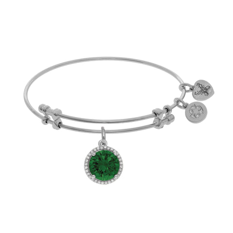 Angelica May Birthstone Bangle - Oak Ridge Jewelers