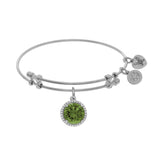 Angelica August Birthstone  Bangle - Victoria's Jewelry