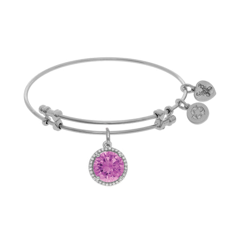 Angelica October Birthstone Bangle - Oak Ridge Jewelers