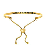 "Intuitions ""Family Is Everything"" Friendship Bracelet - Oak Ridge Jewelers"