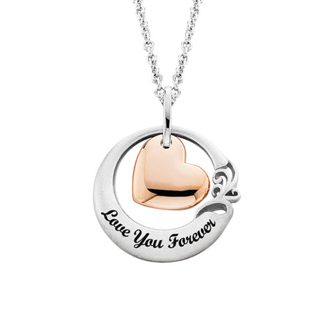 "Sterling Silver ""Love You Forever"" Necklace - Oak Ridge Jewelers"