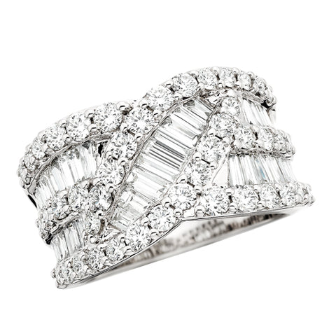 14 Karat White Gold 1 1/2 ctw Diamond Anniversary Band - Oak Ridge Jewelers