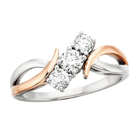 3 stone diamond ring - Oak Ridge Jewelers