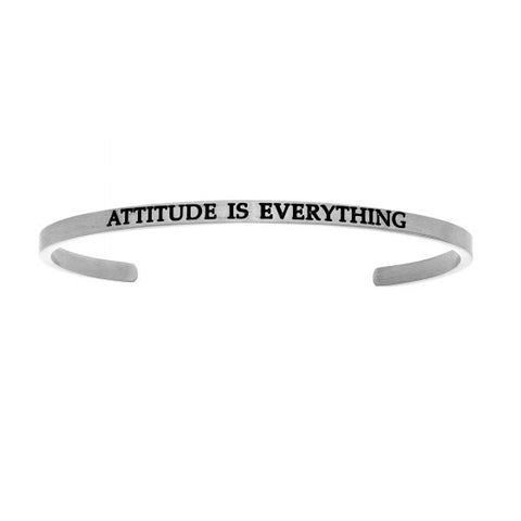 "Intuitions ""Attitude Is Everything"" Cuff Bracelet - Victoria's Jewelry"