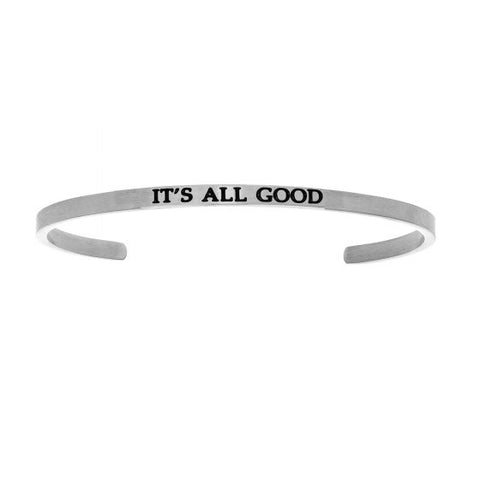 "Intuitions ""It's All Good"" Cuff Bracelet - Oak Ridge Jewelers"