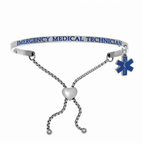 "Intuitions ""Emergency Medical Technician"" Friendship Bracelet - Victoria's Jewelry"