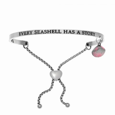 "Intuitions ""Every Shell Has A Story"" Friendship Bracelet - Victoria's Jewelry"