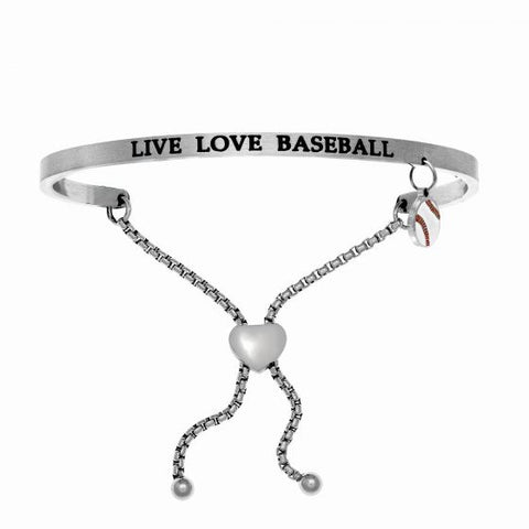 "Intuitions ""Live Love Baseball"" Friendship Bracelet - Oak Ridge Jewelers"