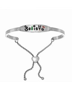 "Intuitions ""Believe"" Friendship Bracelet - Oak Ridge Jewelers"