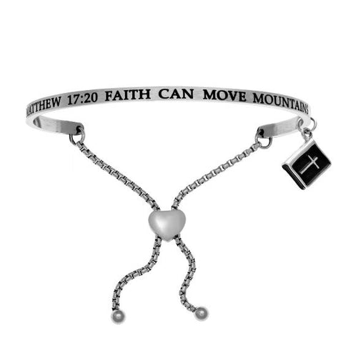 "Intuitions ""Faith Can Move Mountains"" Friendship Bracelet - Oak Ridge Jewelers"