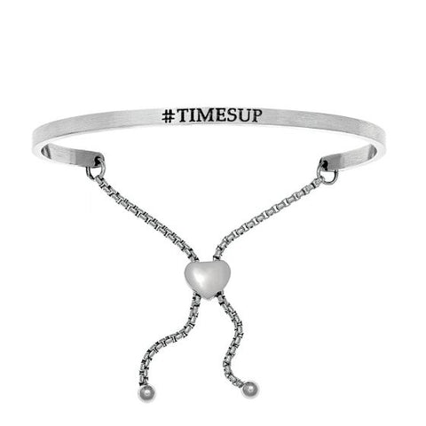 "Intuitions "" #Timesup"" Friendship Bracelet - Victoria's Jewelry"