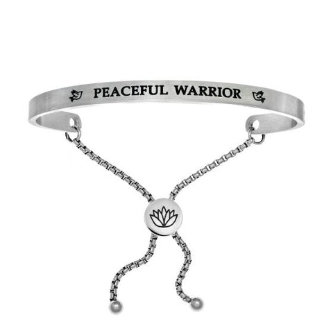 "Intuitions "" Peaceful Warrior"" Friendship Bracelet - Victoria's Jewelry"