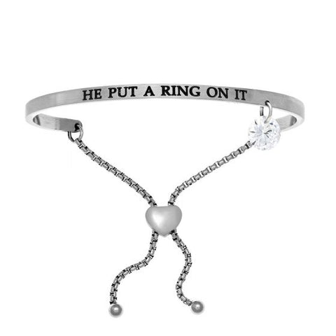 "Intuitions "" He Put A RIng On It"" Friendship Bracelet - Oak Ridge Jewelers"
