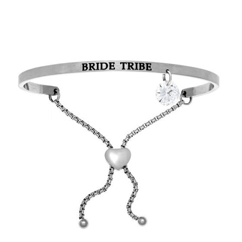 "Intuitions ""Bride Tribe"" Friendship Bracelet - Victoria's Jewelry"