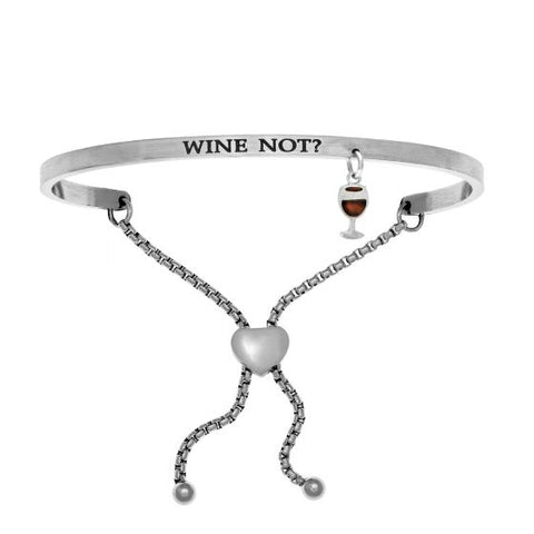 "Intuitions "" Wine Not?"" Friendship Bracelet - Oak Ridge Jewelers"
