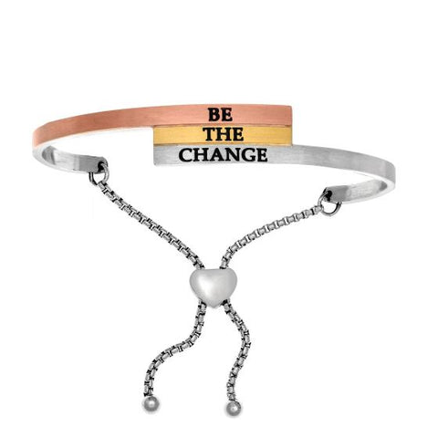 "Intuitions ""Be The Change"" Friendship Bracelet - Oak Ridge Jewelers"