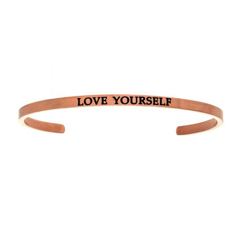 "Intuitions ""Love Yourself"" Cuff Bracelet - Oak Ridge Jewelers"