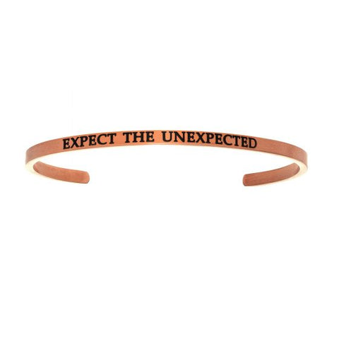 "Intuitions ""Expect The Unexpected"" Cuff Bracelet - Victoria's Jewelry"