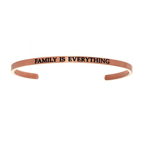 "Intuitions ""Family Is Everything"" Cuff Bracelet - Oak Ridge Jewelers"