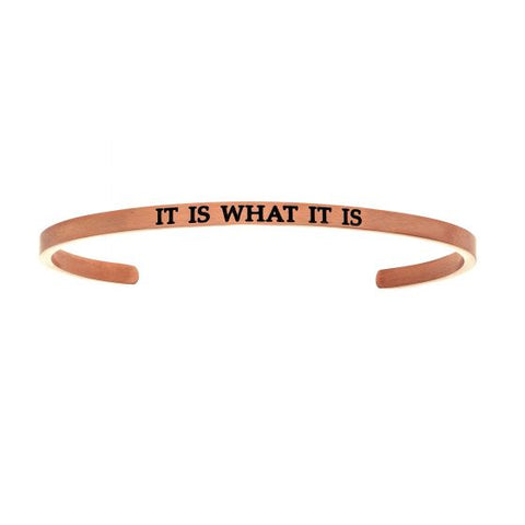 "Intuitions ""It Is What It Is""  Cuff Bracelet - Oak Ridge Jewelers"