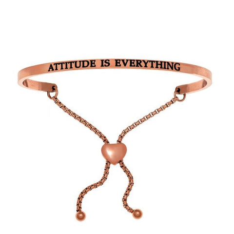 "Intuitions ""Attitude Is Everything"" Friendship Bracelet - Victoria's Jewelry"