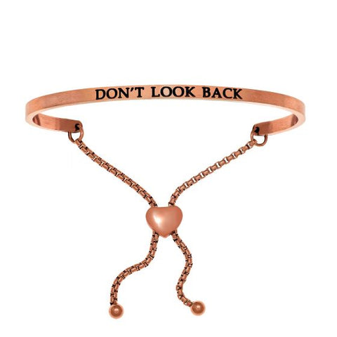 "Intuitions ""Don't Look Back"" Friendship Bracelet - Victoria's Jewelry"