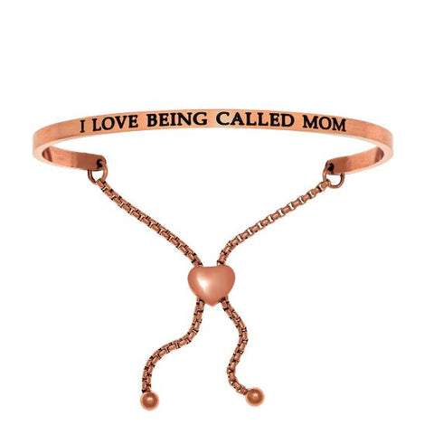 "Intuitions ""I Love Being Called Mom"" Friendship Bracelet - Oak Ridge Jewelers"