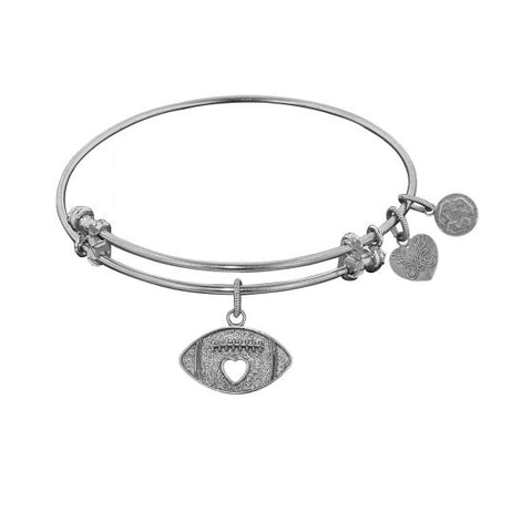 Angelica Football Bangle - Oak Ridge Jewelers