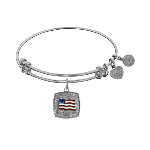 Angelica American Flag Bangle - Oak Ridge Jewelers