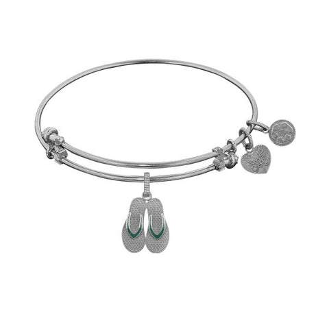 Angelica Flip Flop Bangle - Victoria's Jewelry