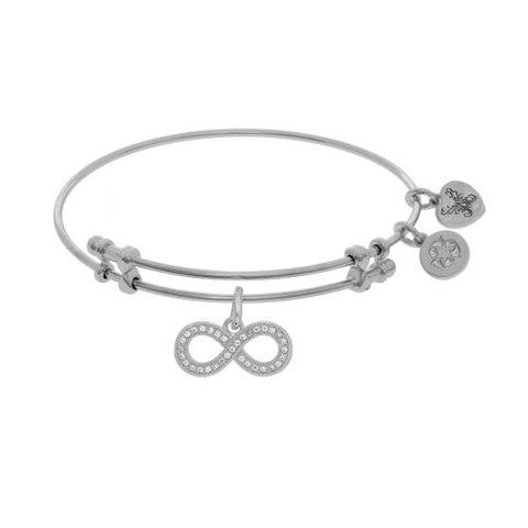 Angelica Cz Infinity Bangle - Oak Ridge Jewelers