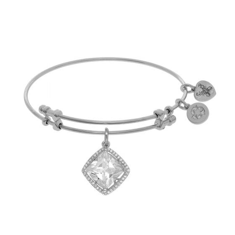 Angelica White Cz  Bangle - Oak Ridge Jewelers