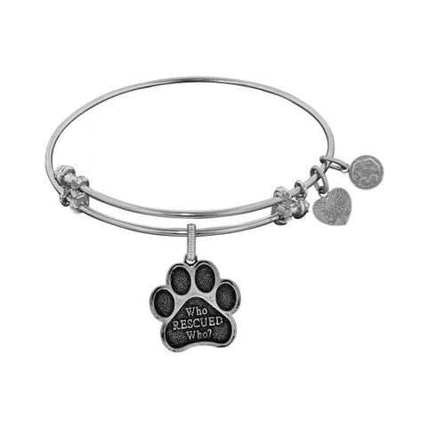 Angelica Who Rescued Who Bangle - Victoria's Jewelry