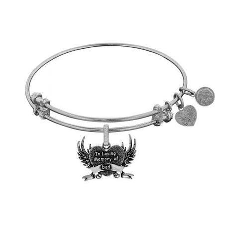 Angelica In Loving Memory Of Dad  Bangle - Oak Ridge Jewelers