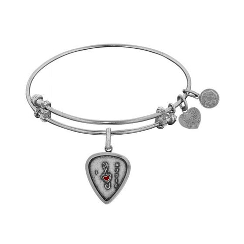 Angelica I Love Music Enamel  Bangle - Oak Ridge Jewelers