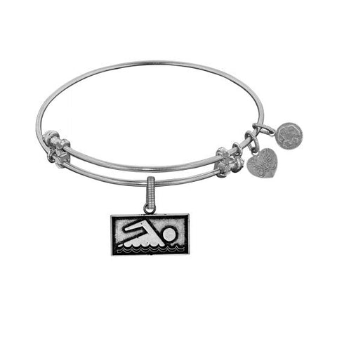 Angelica  Swimmer Bangle - Oak Ridge Jewelers