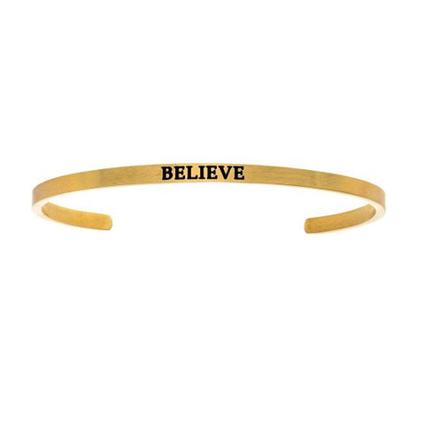 "Intuitions ""Believe"" Cuff Bracelet - Oak Ridge Jewelers"