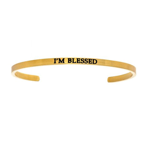 "Intuitions ""I'm Blessed"" Cuff Bracelet - Oak Ridge Jewelers"