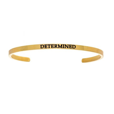 "Intuitions ""Determined"" Cuff Bracelet - Oak Ridge Jewelers"