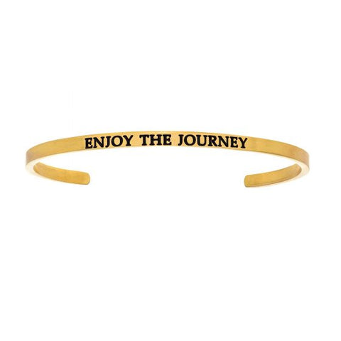 "Intuitions ""Enjoy The Journey"" Cuff Bracelet - Oak Ridge Jewelers"
