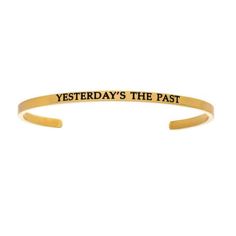 "Intuitions ""Yesterday's The Past"" Cuff Bracelet - Oak Ridge Jewelers"