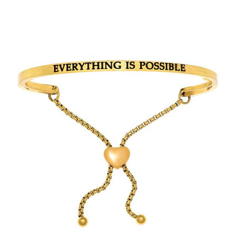 "Intuitions ""Everything Is Possible"" Friendship Bracelet - Oak Ridge Jewelers"