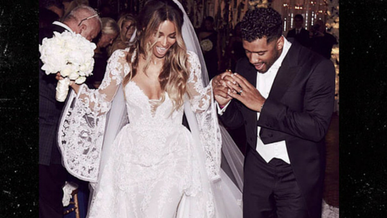 Ciara and Russell Are MARRIED!