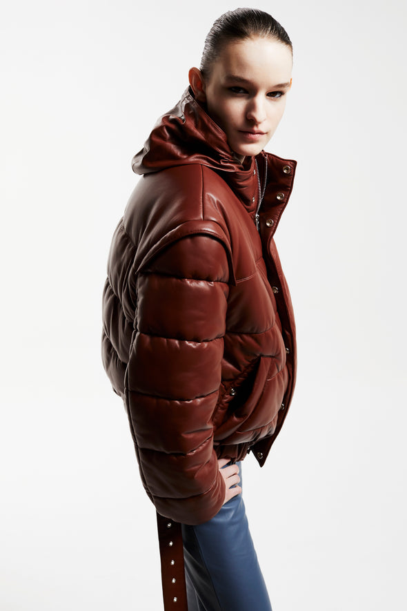 ALL TIME HOODED PUFFER