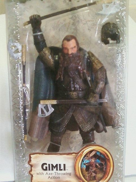 The Lord Of The Rings - Gimli | ACTION FIGURES BY CARTER