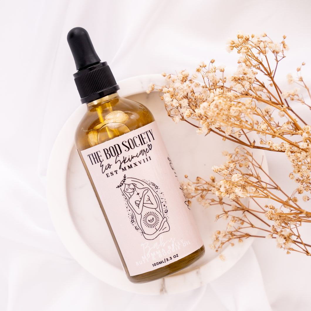Baby Mumma- Belly, butt & boobie oil