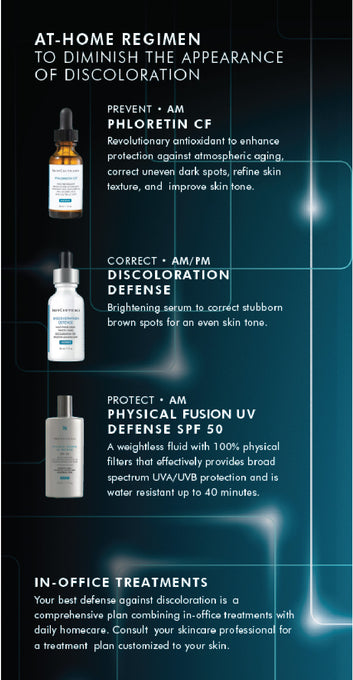 SkinCeuticals how to deal with discoloration