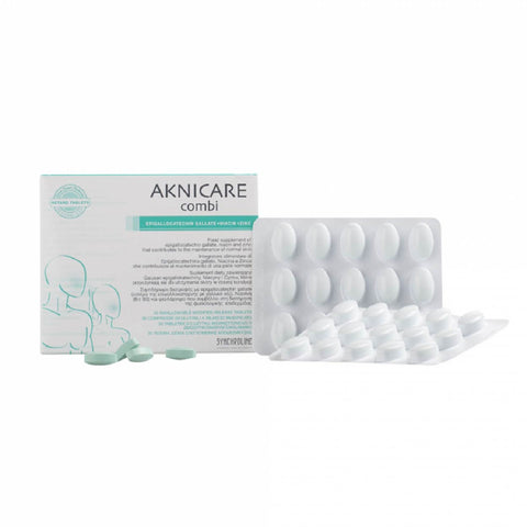 Aknicare - Combi  <br> (ANTI-ACNE SUPPLEMENT)